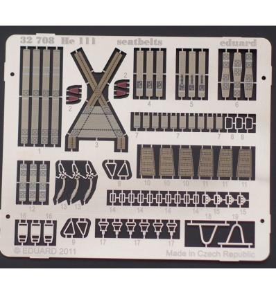 He-111 seatbelts